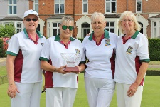 Senior Fours - Yvonne Pick Lynn Houghton Karen Rheams Terry Taylor 225x150